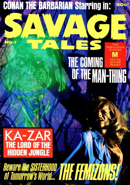 Savage Tales 1 [Murray Publisher]